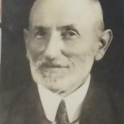 Hersz Liber, dziadek Lutka Orenbacha. Źródło: APTM nr 7. Sygn. III/1147 p.190
