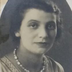 Guta Knopp, ciocia Lutka Orenbacha. Źródło: APTM nr 7. Sygn. III/2157 p.95