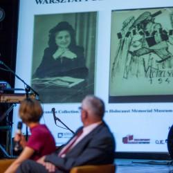Historia Lutka Orenbacha i Edith Blau. Fot. D. Kwapisiewicz