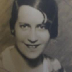 Hanna Landsberg, daughter of Fiszel vel Feliks. Marian Fronczkowski Collection.