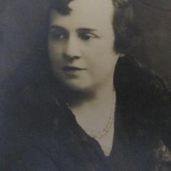 Romana nee Koral, wife of Emanuel Bornstein. Marian Fronczkowski Collection.
