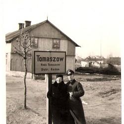 wjazd do Tomaszowa