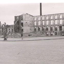 zbombardowany na początku wojny budynek przy ul. św. Antoniego