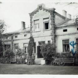 lipiec 1940 roku, budynek przedwojennego Seminarium Nauczycielskiego przy ul. św. Antoniego