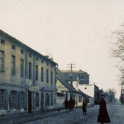 ulica świętej Tekli (dziś Barlickiego). Zbiory Jerzego Pawlika