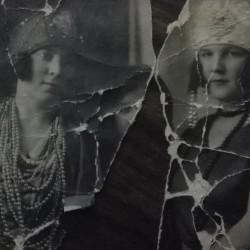 Równe. On the right Oktawia Harasimowicz, grandmother of Mirosława Harasimowicz