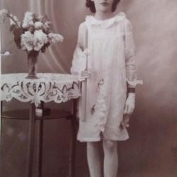 Halina Czapiga. Rok 1940 lub 1941. Zbiory Haliny Czapigi