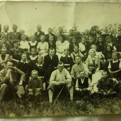 Szkoła w Białobrzegach. Rok 1937