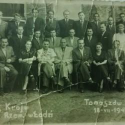 Kurs kroju w Łodzi. Rok 1949