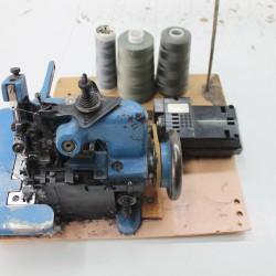 Maszyna overlock. Zbiory Sławomira Pawlika
