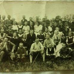 School in Białobrzegi. 1937