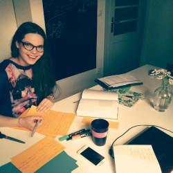 dr Karolina Wawer w wirze przygotowań do warsztatów