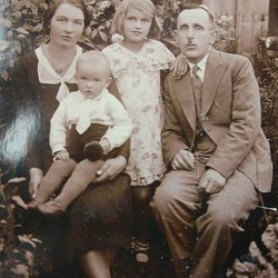 Sulmowscy family. The thirties. Tadeusz Sulmowski Collection