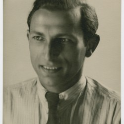 Izrael Aljuhe Orenbach. USHMM, Edith Brandon Collection