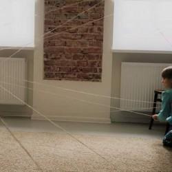huge cobeweb in our studio